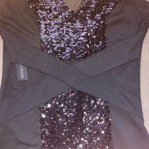 Dresses & Skirts - Small Sparkly Black Dress